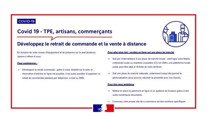 Ministère de l'économie : Guide pratique pour accompagner les commerçants dans leur numérisation